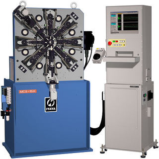 mcs15a spring making machine